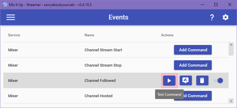 Snap Camera control on Mixer – Let viewers control your